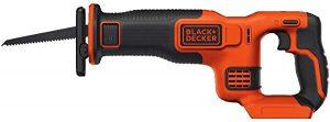 Black+Decker reciprocating saw