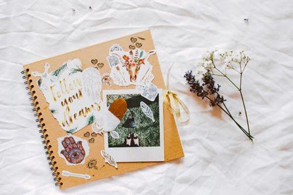 Scrapebook paper craft