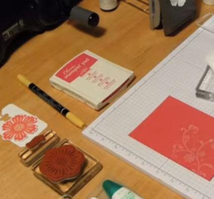 Paper craft stamping