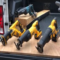 DeWalt reciprocating saws rechargeable