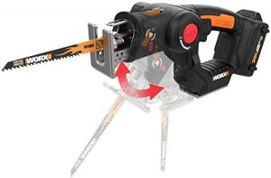 Worx WX550L recip saw for yard