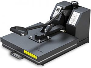 PowerPress heat press machine for T-shirt printing