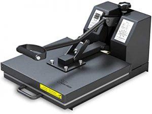 PowerPress heat press machine for T-shirt printing